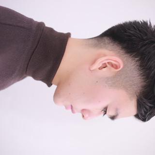 メンズカット ショート くせ毛 メンズ ヘアスタイルや髪型の写真・画像