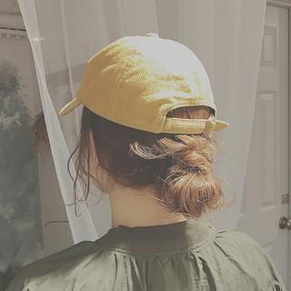 ミディアム デート ストリート スポーツ ヘアスタイルや髪型の写真・画像