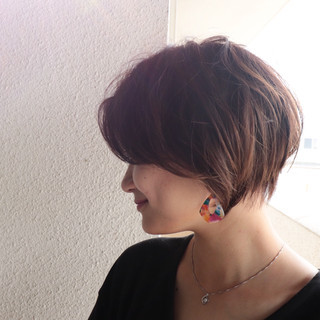 ショートヘア ベリーショート ショートボブ ショート ヘアスタイルや髪型の写真・画像