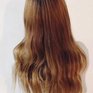 透明感 スポーツ ロング 秋 ヘアスタイルや髪型の写真・画像