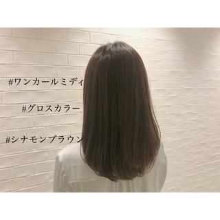 女子力 ブラウン アッシュベージュ ゆるふわ ヘアスタイルや髪型の写真・画像