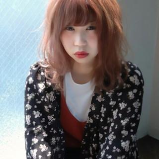 パーマ セミロング 簡単 大人かわいい ヘアスタイルや髪型の写真・画像