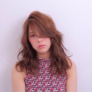 ストリート 前髪あり ピュア ハイライト ヘアスタイルや髪型の写真・画像