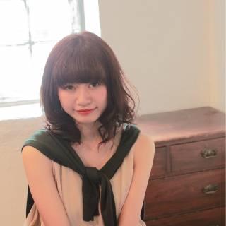 秋 ナチュラル 大人かわいい フェミニン ヘアスタイルや髪型の写真・画像