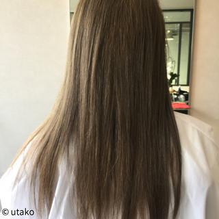 秋 エレガント ロング 上品 ヘアスタイルや髪型の写真・画像