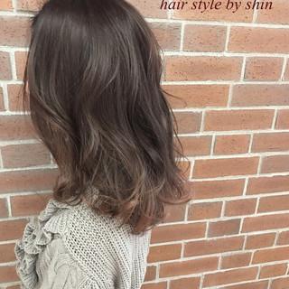 デート ニュアンス ボブ 外国人風 ヘアスタイルや髪型の写真・画像