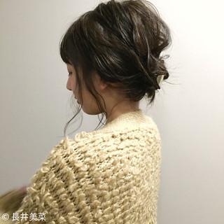 外国人風 ヘアアレンジ 簡単ヘアアレンジ アッシュ ヘアスタイルや髪型の写真・画像 ヘアスタイルや髪型の写真・画像
