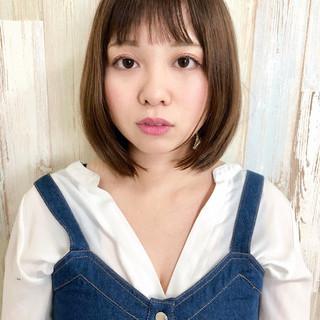 モテ髪 イルミナカラー ナチュラル レイヤーカット ヘアスタイルや髪型の写真・画像