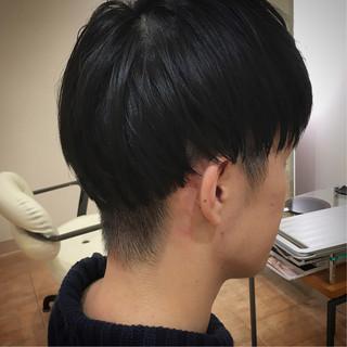 メンズマッシュ マッシュ ショート 刈り上げ ヘアスタイルや髪型の写真・画像