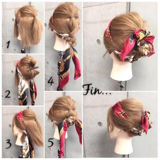ヘアアクセ 大人女子 ショート 簡単ヘアアレンジ ヘアスタイルや髪型の写真・画像