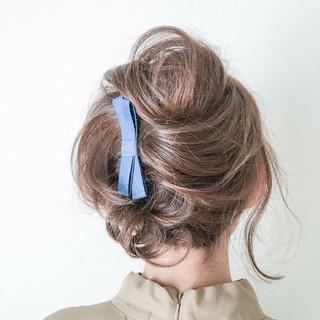 エレガント 小顔 色気 パーマ ヘアスタイルや髪型の写真・画像