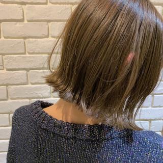 ボブ ショートボブ ナチュラル ショートヘア ヘアスタイルや髪型の写真・画像