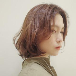 ゆるふわパーマ 毛先パーマ レイヤーボブ レイヤーカット ヘアスタイルや髪型の写真・画像