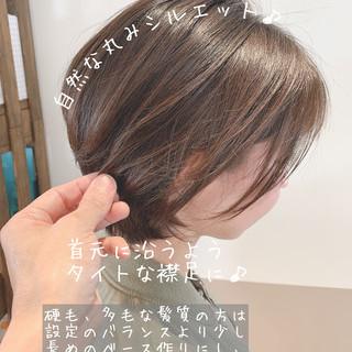 ナチュラル 大人ショート 大人可愛い 大人ヘアスタイル ヘアスタイルや髪型の写真・画像