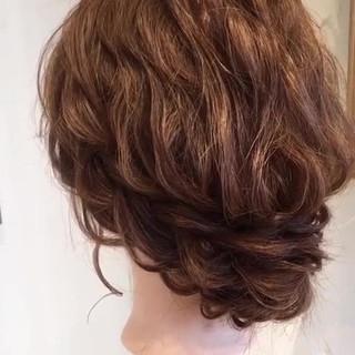 大人かわいい ヘアアレンジ ゆるふわ 結婚式 ヘアスタイルや髪型の写真・画像