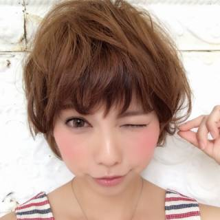 フェミニン 丸顔 大人かわいい ヘアアレンジ ヘアスタイルや髪型の写真・画像 ヘアスタイルや髪型の写真・画像