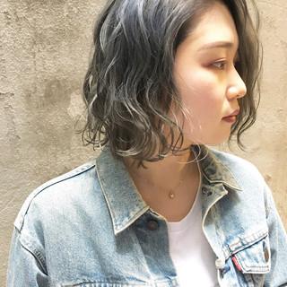 外国人風カラー ハイトーンカラー ストリート 透明感カラー ヘアスタイルや髪型の写真・画像