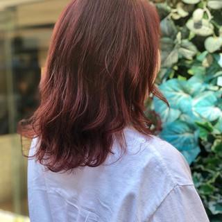 ヘアアレンジ ストリート ロブ ダブルカラー ヘアスタイルや髪型の写真・画像 ヘアスタイルや髪型の写真・画像