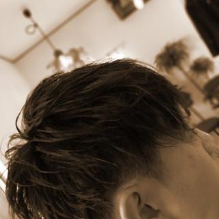 矢野真人さんのヘアスナップ