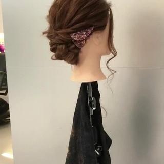 ヘアアレンジ シニヨン ショート ロング ヘアスタイルや髪型の写真・画像 ヘアスタイルや髪型の写真・画像