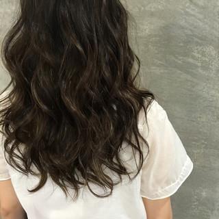 ストリート ロング 外国人風 ハイライト ヘアスタイルや髪型の写真・画像
