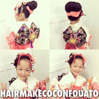 和服 ロング 和装 ヘアアレンジ ヘアスタイルや髪型の写真・画像 ヘアスタイルや髪型の写真・画像