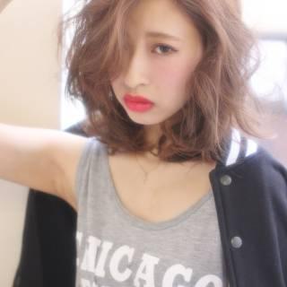 ストレート パンク 春 アッシュ ヘアスタイルや髪型の写真・画像