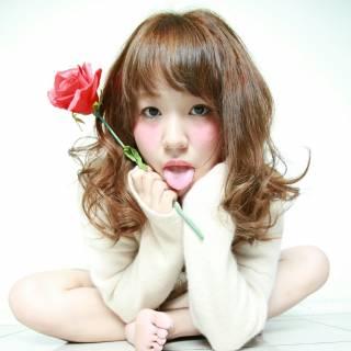 フェミニン コンサバ 春 愛され ヘアスタイルや髪型の写真・画像