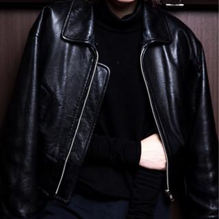 ワンレングス ボブ 外ハネ 前髪あり ヘアスタイルや髪型の写真・画像