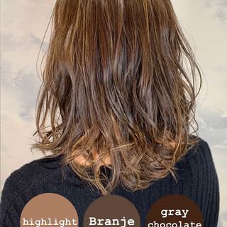 大人女子 イルミナカラー おしゃれさんと繋がりたい 髪質改善トリートメント ヘアスタイルや髪型の写真・画像