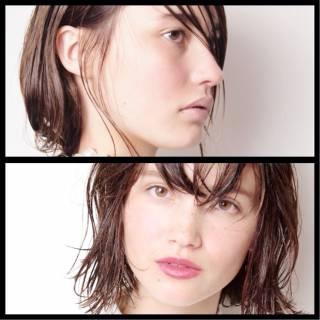 束感 ヘアスタイルや髪型の写真・画像