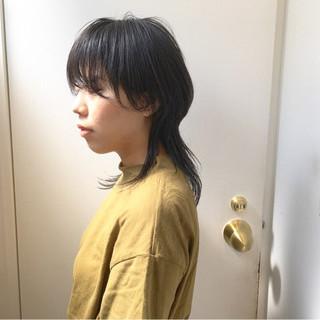 ショート マッシュウルフ マッシュヘア ハンサムボブ ヘアスタイルや髪型の写真・画像