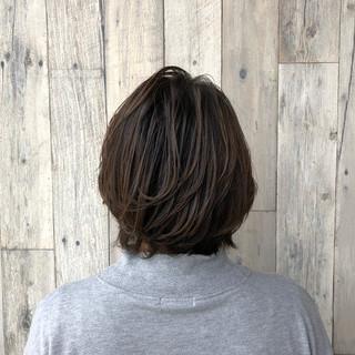 上品 デート エレガント ボブ ヘアスタイルや髪型の写真・画像