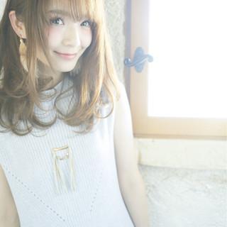 外国人風 フェミニン 大人かわいい パーマ ヘアスタイルや髪型の写真・画像