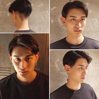 ナチュラル メンズショート 刈り上げ ショート ヘアスタイルや髪型の写真・画像