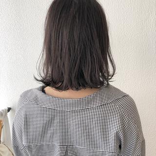 ショートボブ ナチュラル 外ハネ ボブ ヘアスタイルや髪型の写真・画像