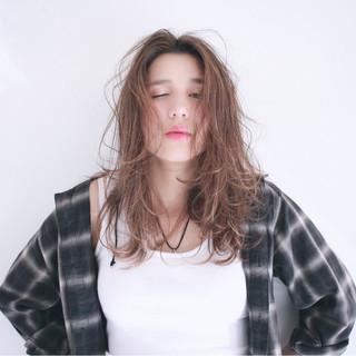 福嶋友美さんのヘアスナップ