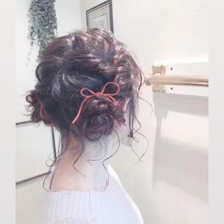 アンニュイほつれヘア ヘアアレンジ 外国人風 ツインお団子 ヘアスタイルや髪型の写真・画像 ヘアスタイルや髪型の写真・画像