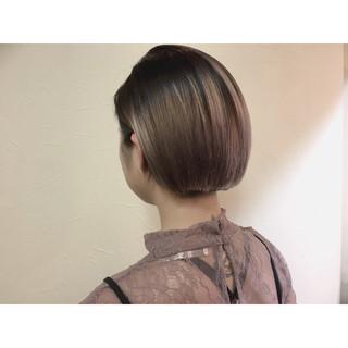 ハイライト 暗髪 モード グラデーションカラー ヘアスタイルや髪型の写真・画像 ヘアスタイルや髪型の写真・画像