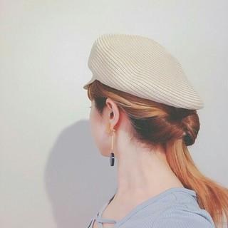 簡単ヘアアレンジ ヘアアレンジ ハイライト ストリート ヘアスタイルや髪型の写真・画像
