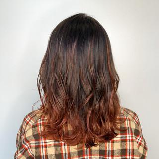 レイヤーカット ウルフカット TOKIOトリートメント ナチュラル ヘアスタイルや髪型の写真・画像