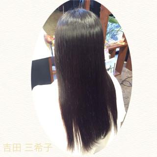 ストレート 簡単ヘアアレンジ ロング 時短 ヘアスタイルや髪型の写真・画像 ヘアスタイルや髪型の写真・画像