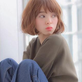 外国人風 ブラウン アッシュ 小顔 ヘアスタイルや髪型の写真・画像
