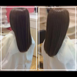 髪質改善 社会人の味方 ナチュラル 髪質改善カラー ヘアスタイルや髪型の写真・画像