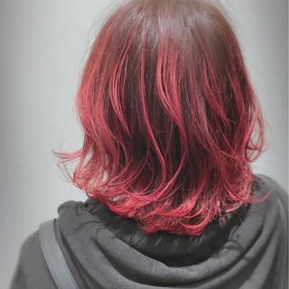 ゆるふわ グラデーションカラー 外国人風 ストリート ヘアスタイルや髪型の写真・画像