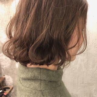 ナチュラル 外国人風カラー 色気 透明感 ヘアスタイルや髪型の写真・画像