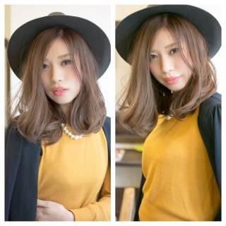 秋 ハロウィン ミディアム コンサバ ヘアスタイルや髪型の写真・画像