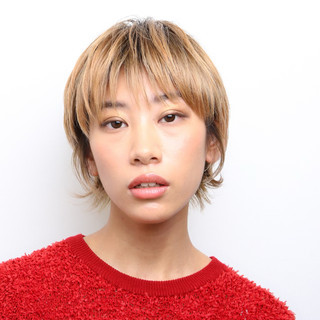 阿藤俊也 ハンサムショート ショート PEEK-A-BOO ヘアスタイルや髪型の写真・画像