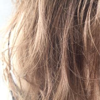ハイライト ストリート アッシュ ロング ヘアスタイルや髪型の写真・画像