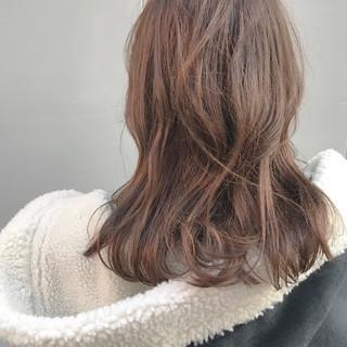 セミロング アウトドア デート ヘアアレンジ ヘアスタイルや髪型の写真・画像
